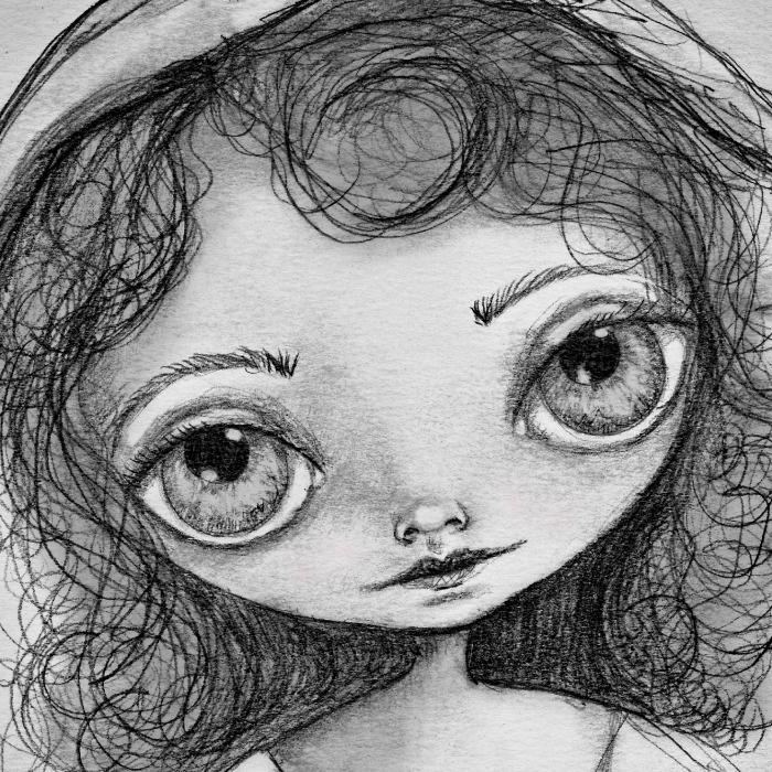 Someday a graphite drawing by Deborah Jackson